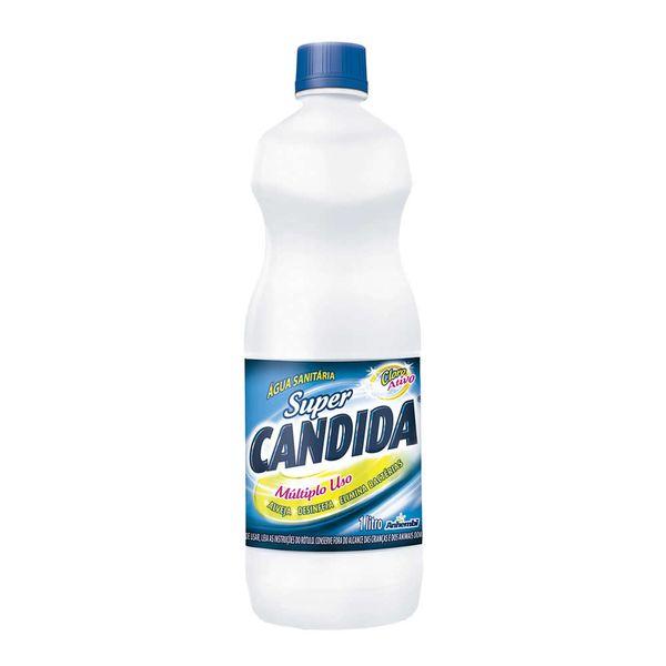 Água Sanitária Super Cândida 1 Litro