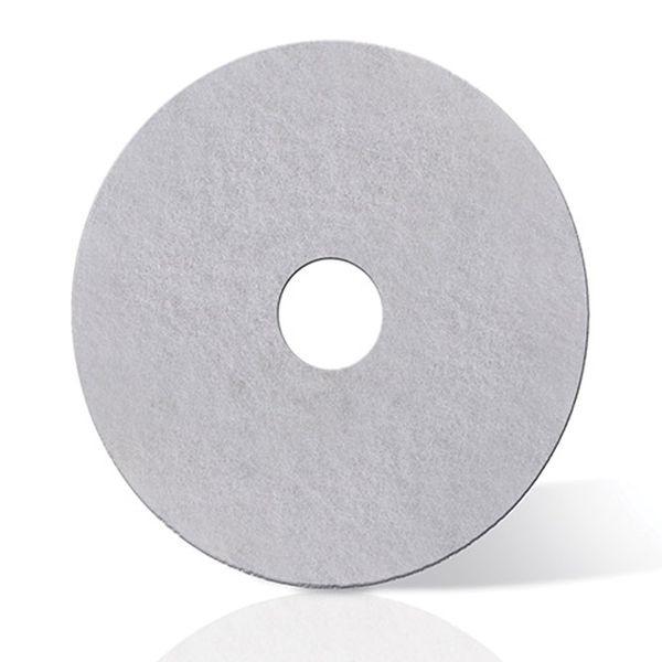 Disco para enceradeira Branco Lustrador 3M 300mm