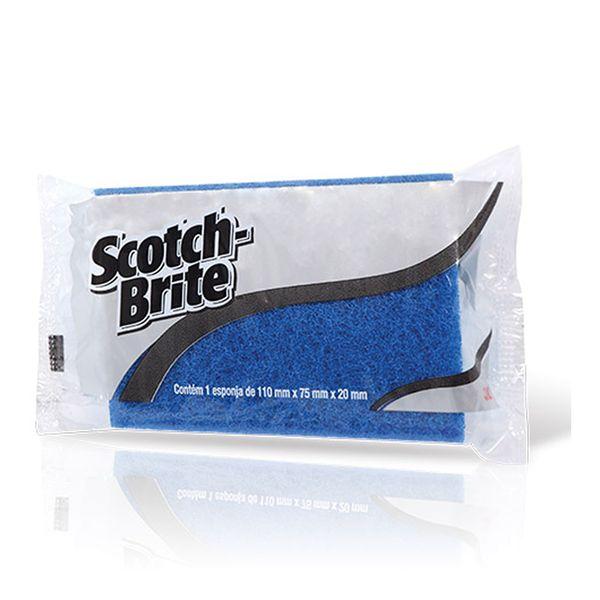 Esponja Não Risca Azul Scotch Brite 75x110mm