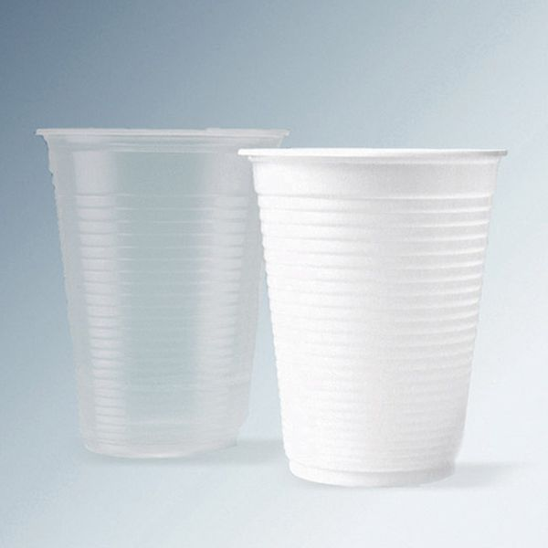 Copo Descartável para Água 180ml Branco com 2.500 Unidades Kerocopo