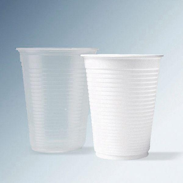 Copo Descartável para Água 200ml branco Ecocoppo com 2.500 unidades ABNT PP