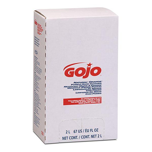 Sabonete Liquido Desengraxante Gojo Natural Orange refil 2 Litros