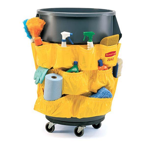Bolsa Organizadora Amarela Rubbermaid para Lixeira BRUTE®