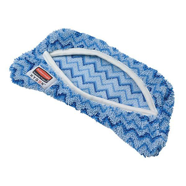 Mop Úmido Agua Microfibra Azul para Suporte Flex Rubbermaid