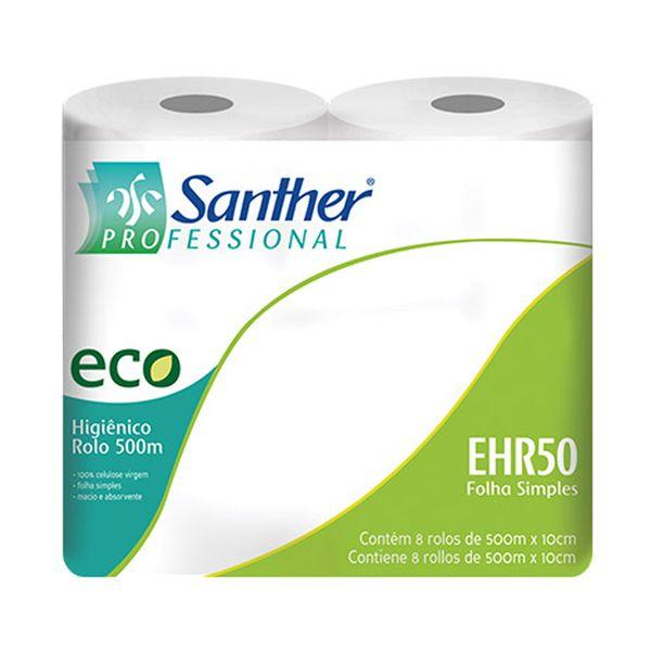 Papel Higiênico Rolão Folha Simples Eco 8 rolos com 500m
