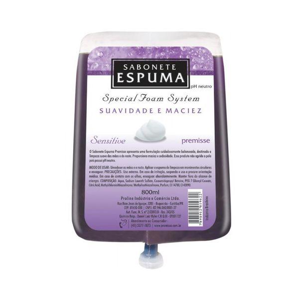 Sabonete Espuma Sensitive Premisse 700ml