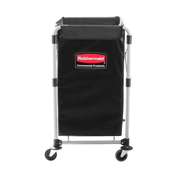 Carro Dobrável X-Cart Preto Rubbermaid 150 Litros