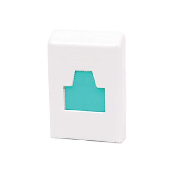 Dispenser para Absorvente Higiênico Plástico Branco Trilha