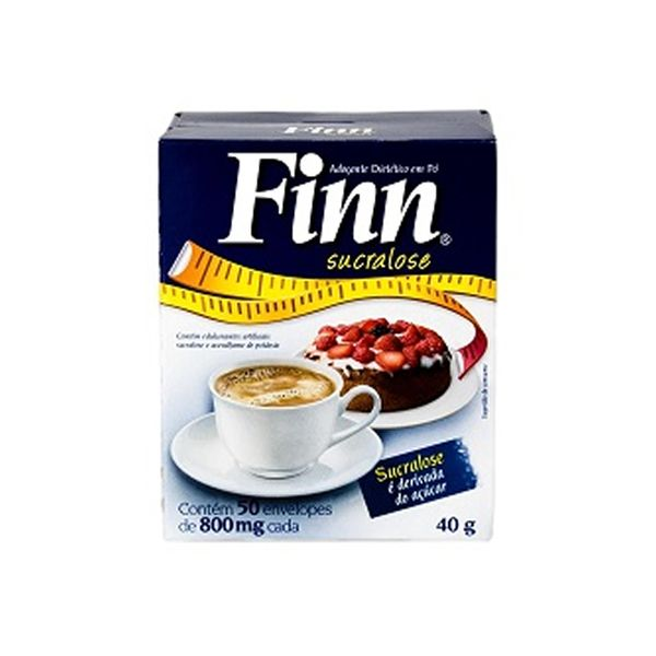Adoçante Sachê Finn Sucralose com 1.000 unidades