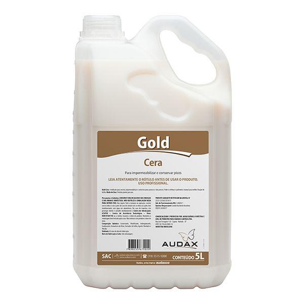 Cera Impermeabilizante Incolor 5 Litros Audax Gold