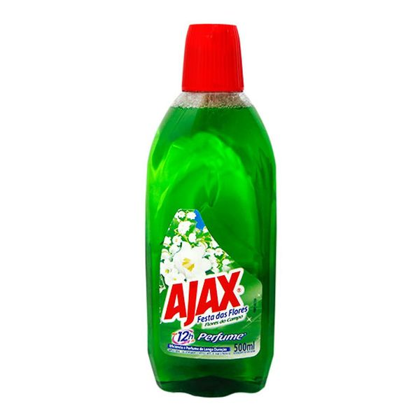 Limpador Multiuso Ajax Flores do Campo 500ml