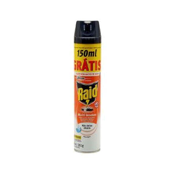 Inseticida aerossol RAID 450ml