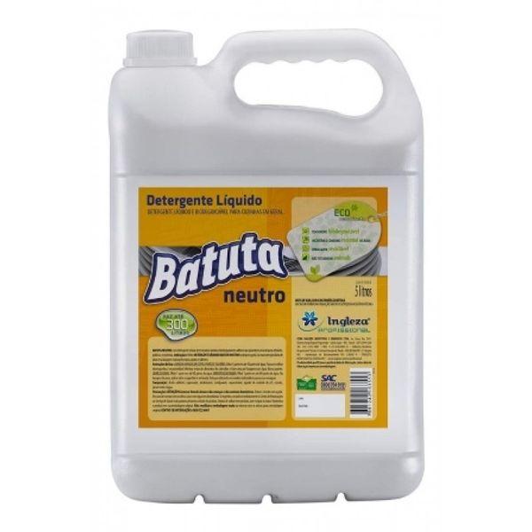 Detergente Neutro Batuta 5 Litros Ingleza