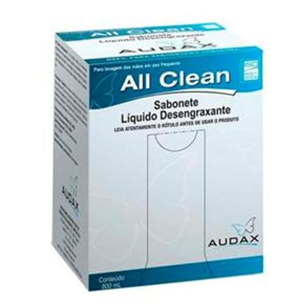 Sabonete Desengraxante 800ml Audax All Clean