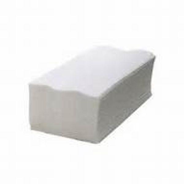 Papel Toalha Interfolha Folha Simples Pratic Plus 2 Dobras 22,5x20cm branco com 1000 unidades