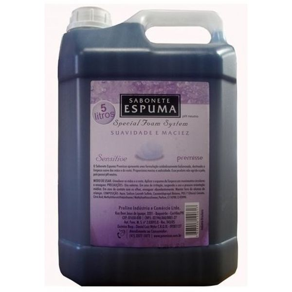 Sabonete Espuma 5l Sensitive