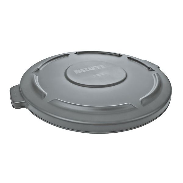 Tampa Plana Cinza Rubbermaid para BRUTE® 166L Rubbermaid
