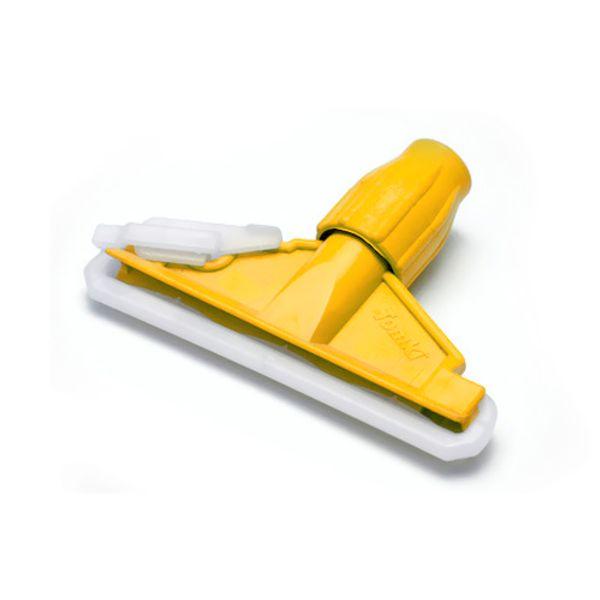Mop Úmido Suporte Plástico Amarelo Rubbermaid