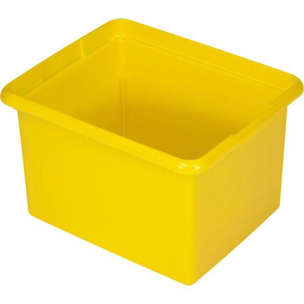 Cesto Organizador 28L Amarelo Rubbermaid