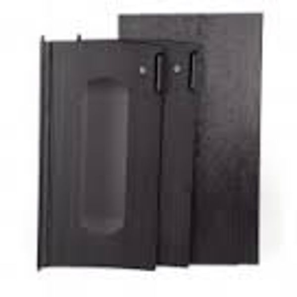Kit de Portas preto para Carros Rubbermaid