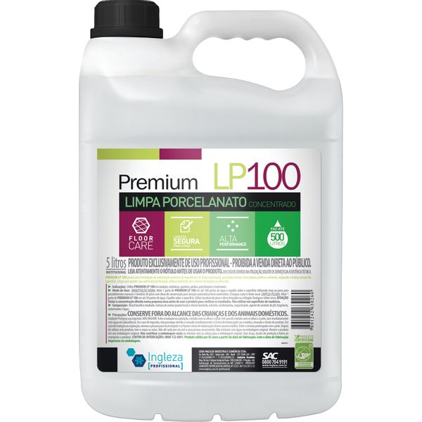 Limpa Porcelanato Premium Ingleza 5 Litros