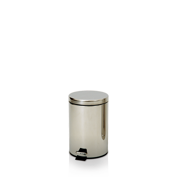 Coletor de Lixo Inox com Pedal 12 Litros Artplan