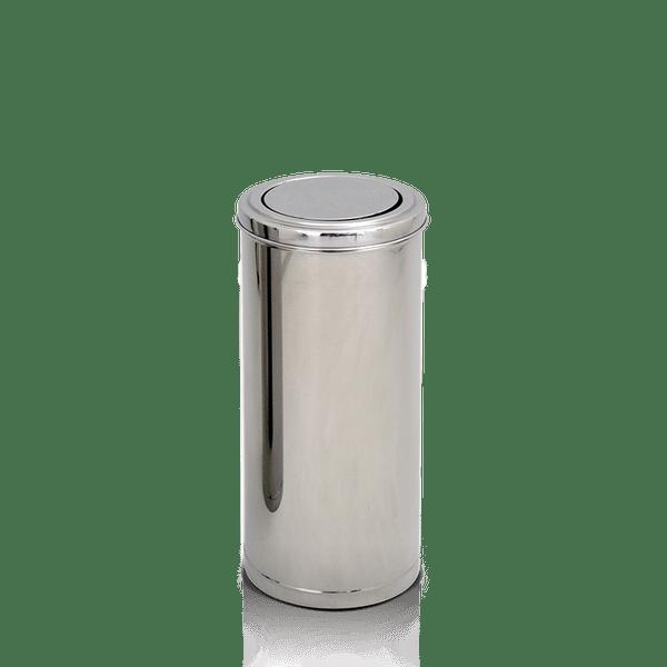 Coletor de Lixo Inox Tampa Flip Top 50 Litros Artplan-5110