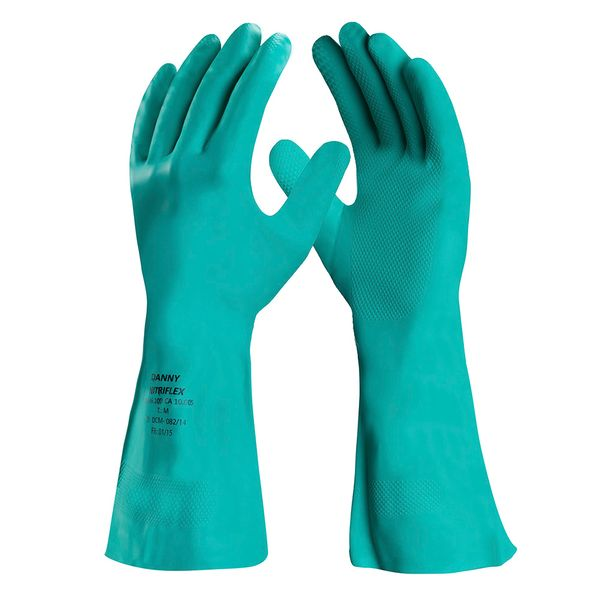 Luva Nitrílica Para Proteção Química Nitriflex Forrada-5193