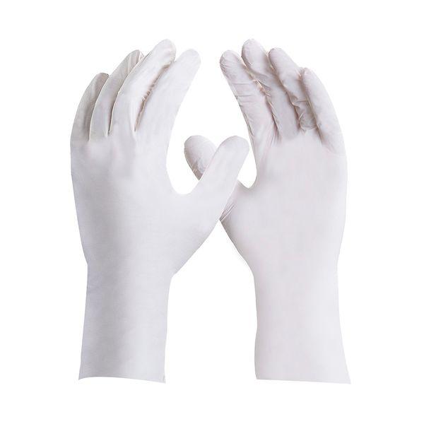Luva Nitrílica Antialérgica Sensiflex Branca-5195