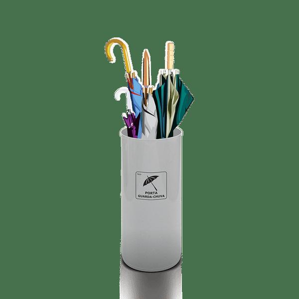 Porta Guarda Chuvas Plástico Branco 25 Litros Artplan