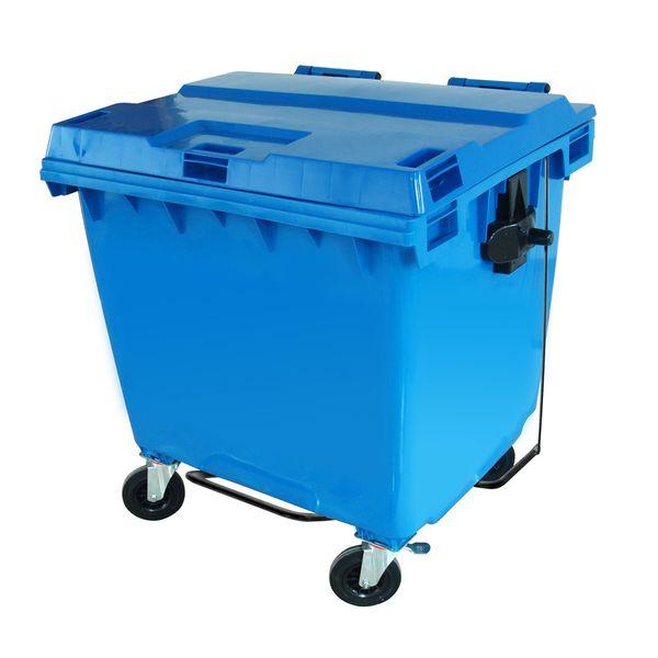 Conteiner de Plástico 1000 Litros Azul C1000