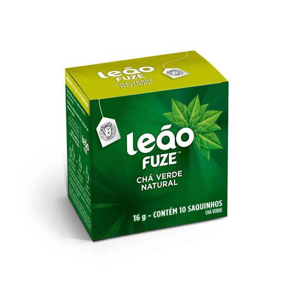 Chá Verde Sachê com 10 unidades Leão