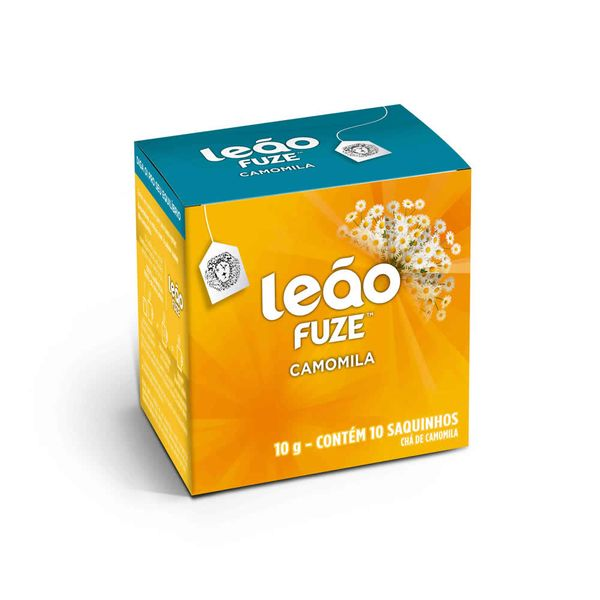Chá de Camomila Sache com 10 unidades Leão