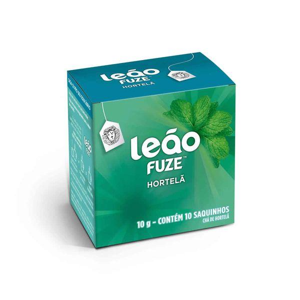 Chá de Hortelã Sachê com 10 unidades Leão