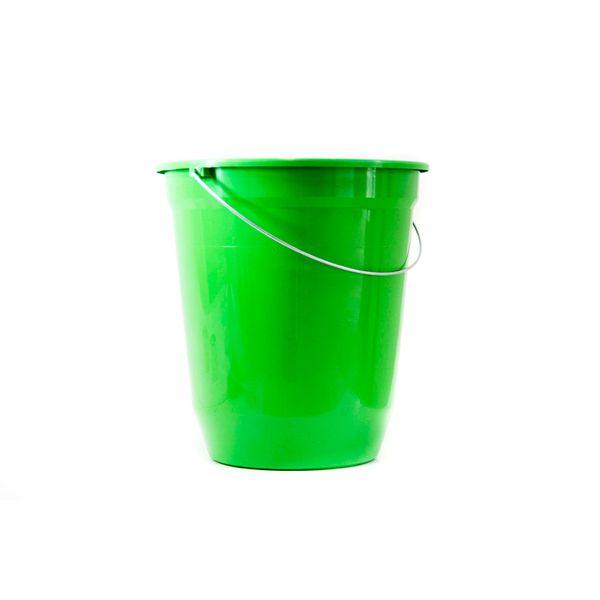 Balde Plástico Verde 13,5 Litros Jaguar