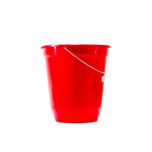 Balde Plástico Vermelho 13,5 Litros Jaguar