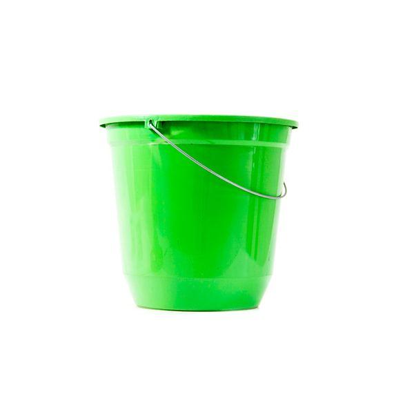 Balde Plástico Verde 7,5 Litros Jaguar