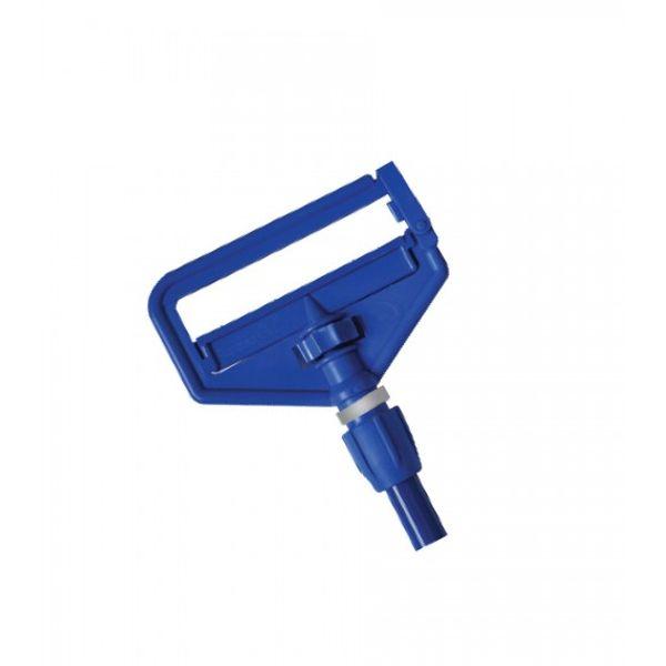 Haste Fosco para Mop Água com Cabo 1.50cm Azul Bralimpia