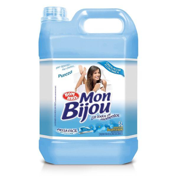Amaciante de Roupa 5L Mon Bijou