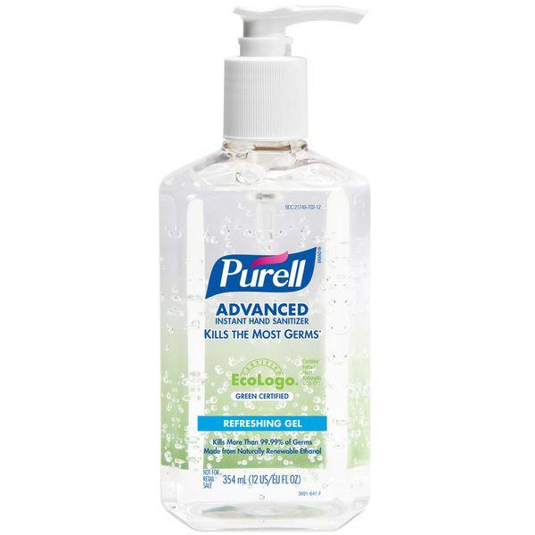 Álcool Gel PURELL® Antisséptico Instantâneo para as Mãos 354ml
