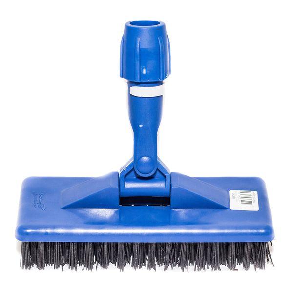 Suporte Limpa Tudo Escova Pesada Azul Bralimpia