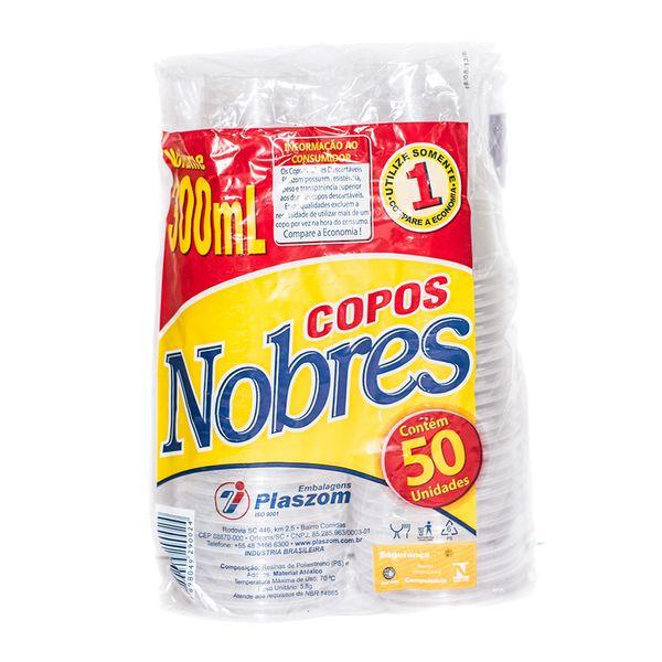 Copo Descartável para Chopp 300ml Nobres 2.000 unidades