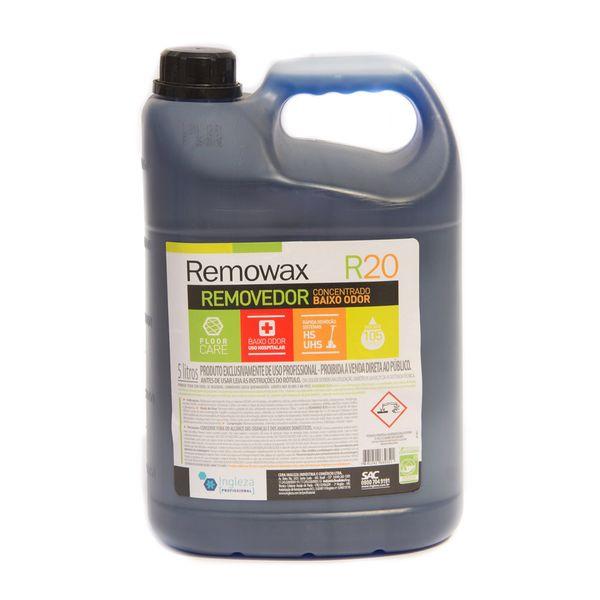Removedor de Cera Concentrado Baixo Odor Remowax 5 Litros Ingleza