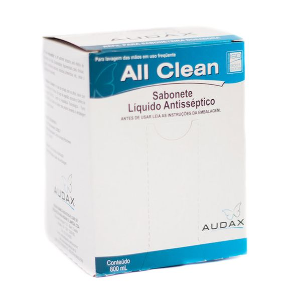 Sabonete Líquido Antisséptico 800ml Audax Premium