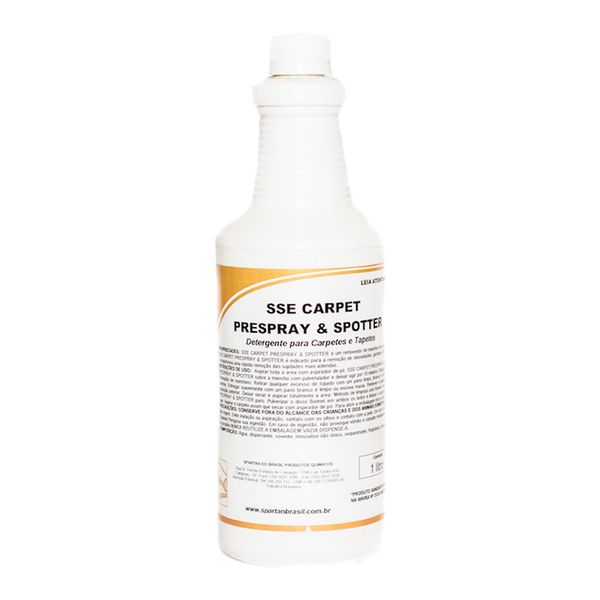 Limpa Carpete SSE 1 Litro Spartan