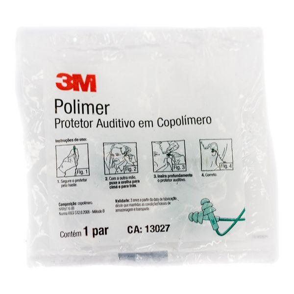 Protetor Auditivo Polimer em Copolímero 3M