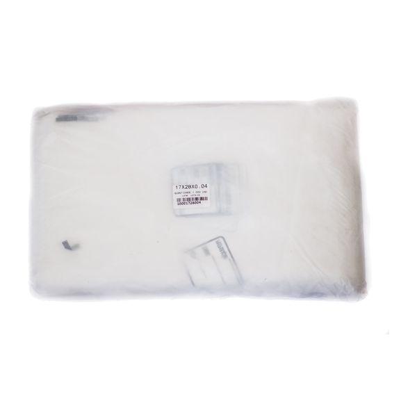 Saco Plástico para Amostra com Tarja 17x27x4 1.000 unidades