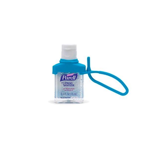 Suporte PURELL® Jelly Wrap Azul Claro para frasco 15ml ou 30ml