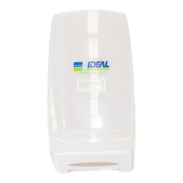 Dispenser para Papel Higiênico Interfolhado Branco Bunzl
