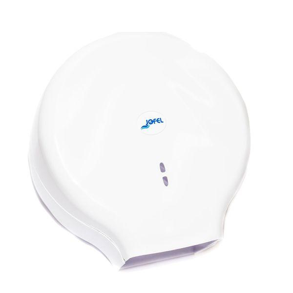Dispenser para Papel Higiênico Rolão 300/500m Branco